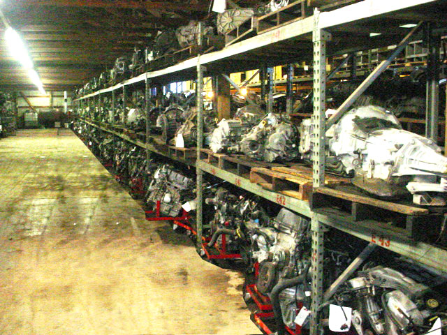 100's of used engines